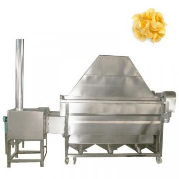 Kitchen Equipment Natural Gas Chips Fryer, Equip Oil Filter System with Ce