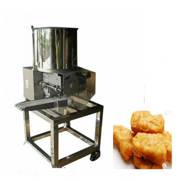 New Design Automatic Steamed Hamburger Burger Patty Grill Making Machine
