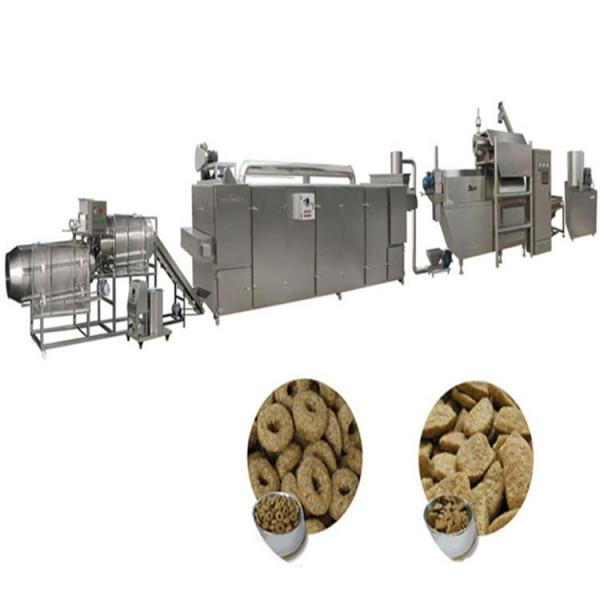 2019 Hot Sales 100kg-6t/H Automatic Dog Cat Fish Shrimp Bird Pet Snack Food Extruder Plant Production Line Equipment Machine Fish Feed Machine