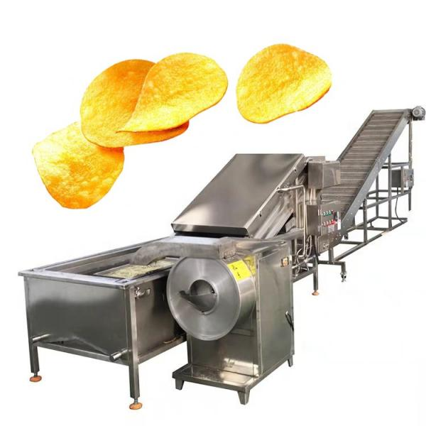 New Condition Complete Automatic French Fries Processing Potato Chips Machine