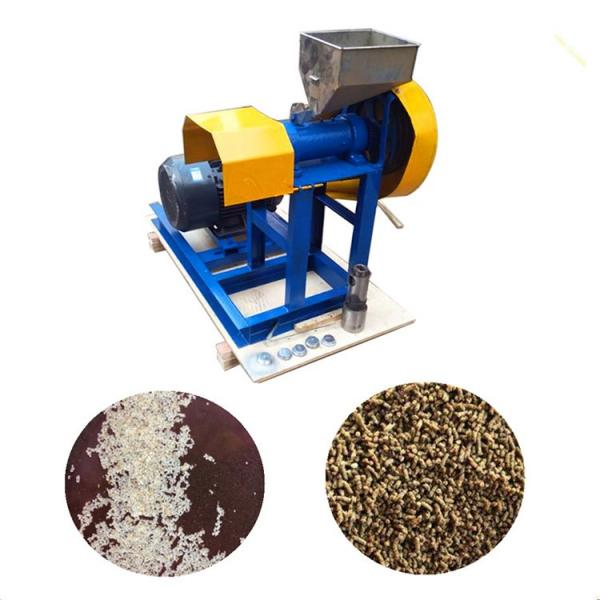 Animal Aquarium Pet Dog Catfish Monkey Fox Bird Sinking Fish Feed Puff Snack Pellet Production Mill Food Processing Making Plastic Machine